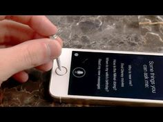 iPhone 5S Not Recognizing Touch ID After Scratch Test - YouTube