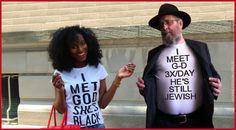 I met God. She's black?