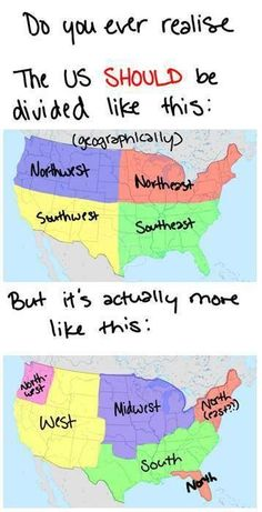 How The U.S. Should Really Be Divided