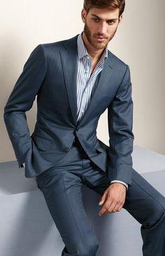 Men's suit fashion