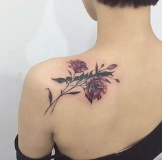 Floral cover-up by Tattooist Flower