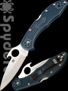 Spyderco Knives: Spyderco Delica Wave --- Heinnie Haynes - Knives, Pocket Tools and Accessories