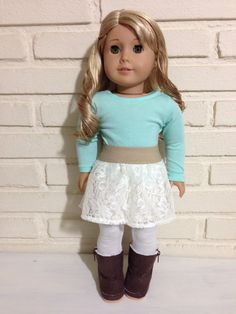 Cozy winter outfit for 18 inch doll. by AnicksBoutique on Etsy, $23.00