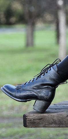 Lace up black heeled BEDSTU boot, is handmade from Mexico. Wear with your favorite maxi skirt for summer or midi dress.