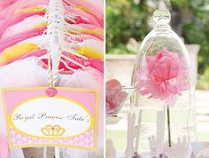 Princess Tu-Tus and love the homemade rose like Beauty and the Beast