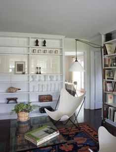 painted paneling - always a good idea!