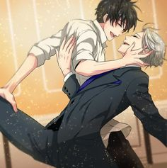 Yuri and Victor dancing - Yuri!!! on ICE