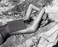 Reading in the sun