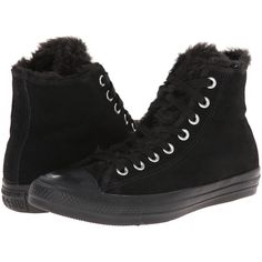 d04c61f6dc81 Converse Chuck Taylor All Star Suede Fur Hi Women s Lace up casual... (