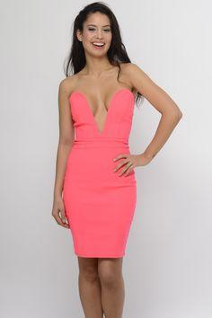 Coral Me Honey Dress