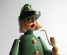 Hiker Erzgebirge Smoker Vintage German Incense Burner GDR