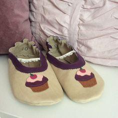 Cupcakes Ballerina Größe 40 #shoemimicsbarefeet #gift #Baby #Schühchen #Krabbelschuhe #Hausschuhe #Puschen #Babyschühchen #Geschenk