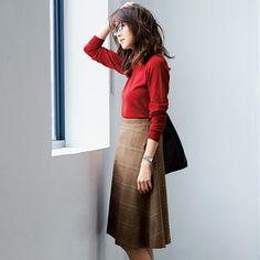 バイラのオリジナルブランド【フェリースルネス】って知ってる?Vol.3 Waist Skirt, High Waisted Skirt, Women's Fashion, Lady, Skirts, Closet, Style, Armoire, Skirt