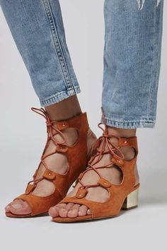 DAILY Ghillie Sandal - Topshop