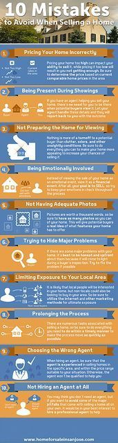 10 Mistakes To Avoid When Selling Your Home