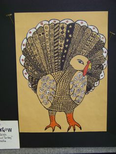 zentangle turkey
