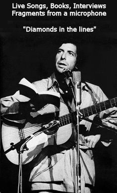What do those lyrics mean? Here are some insights from Leonard Cohen taken from snippets and comments from different performances and interviews and more     http://www.leonardcohen-prologues.com/
