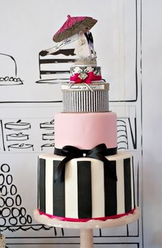 Bridal Shower Inspiration: French/Parisian Themed Shower