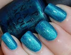 blue nails...wanna try?