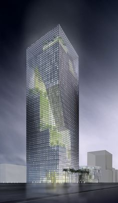 """Al-Birr Foundation Headquarters """"Garden Tower"""", Riyadh, Saudi Arabia, designed by Perkins+Will Architects"""