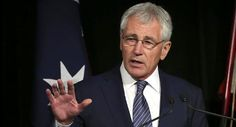 "11/24/14 Secretary of Defense Chuck Hagel Resigns. President Barack Obama on what it meant for Secretary Hagel's time at the Department of Defense. ""He understands our men and women like few others, because he's stood where they stood, he's been in the dirt and he's been in the mud, and that's established a special bond, the President said. ""He sees himself in them and they see themselves in him. And their safety, their lives, have always been at the center of Chuck's service."""