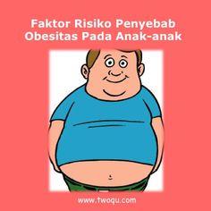 Faktor Risiko Penyebab Obesitas Pada Anak-anak