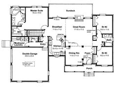 1000 images about house plans under 2500 sq ft on for Small cape cod house plans under 1000 sq ft