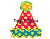 Digital Machine Embroidery Design -  Birthday Cupcake Applique. $4.00, via Etsy. use pom pom