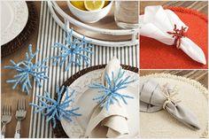 Un toque de mar en tu mesa con nuestros servilleteros modelos coral. Disponible en tonos rojo, azul y crema.  Aros se venden individuales.