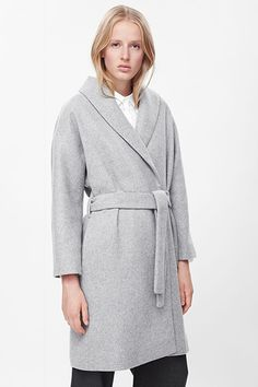 Minimalist coat dressing fall winter 2015-16 New In available now in the UK Androgynous Cool at Cos | sheerluxe.com