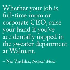 Nia Vardalos Instant Mom Getting Things Done Nia Vardalos Elevator Grocery Store