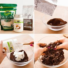 5 Organic DIY Body Scrubs With Major Benefits via Brit + Co.