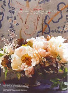 Floral designer Nicolette Owen