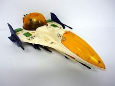 "GI JOE VECTOR JET Vintage 14"" Action Figure Vehicle BF 2000 COMPLETE 1987"