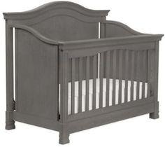 Million Dollar Baby Classic Louis 4-in-1 Convertible Crib in Manor Grey