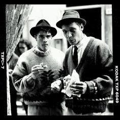 Lunch Break in La Spezia Italia VICTORY Catalog APR '89  photo by #dougordway #filmphotography #pentax67 #milanomoda #uglypeople ##twitter #fashionshoot