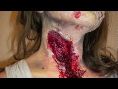 How to make your own zombie make-up!!  I did this last year!!!  It was awesome!!