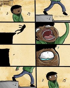 When you hulk-stomp the ground Crazy Funny Memes, Funny Video Memes, Stupid Memes, Funny Relatable Memes, Wtf Funny, Funny Posts, Cute Comics, Funny Comics, Funny Images