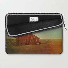 Red Barn in Autumn Laptop Sleeve by Olivia Joy StClaire | Society6