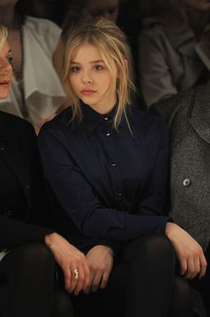 She's only 15...just imagine what she'll look like 5 years from now. Beautiful and talented Chloe Moretz