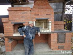 Outdoor Oven, Outdoor Cooking, Outdoor Life, Outdoor Rooms, Pizza Oven Fireplace, Four A Pizza, Home Projects, Grilling, Brick