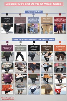 Leggings Do's and Don'ts [A Visual Guide]
