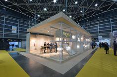 Arcana Tiles at Cevisama 2016 | Arcana Ceramica | #event #cevisama #inspiration #tiles Exhibitions, Tiles, Basketball Court, Inspiration, Home, Room Tiles, Biblical Inspiration, Tile, Ad Home