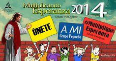 #MultipliqueEsperanza Este Sábado 9 de agosto! :)