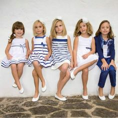 NIÑAS: MODA, MAQUILLAJE Y PEINADOS: VESTIDOS PARA NIÑAS DE AMAYA  – MODA INFANTIL COLECCIO ... | Pinned from Likaty.com (Collect and share ideas you like)