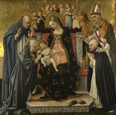 Lorenzo dAlessandro da Sanseverino: The Marriage of Saint Catherine of Siena (1481-1500)