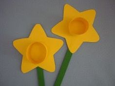 Preschool Crafts for Kids*: Easter...use these on the easter bonnet