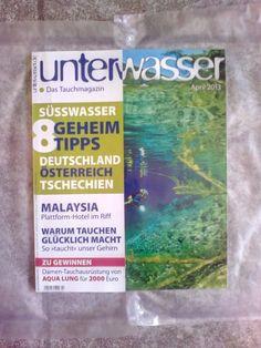 Unterwasser!Das Tauchmagazin!April 2013!Neu!    eBay