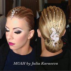 ballroom dance hair ideas