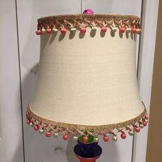 Whimsical Painted Floor Lamp, Painted Lamp, Floor Lamp, Custom Painted Lamp hand painted home decor Painted Lamp, Hand Painted, Painted Frames, Long Candles, Painting Lamps, Art Deco Lamps, Hardware, Jewel Tones, Custom Paint